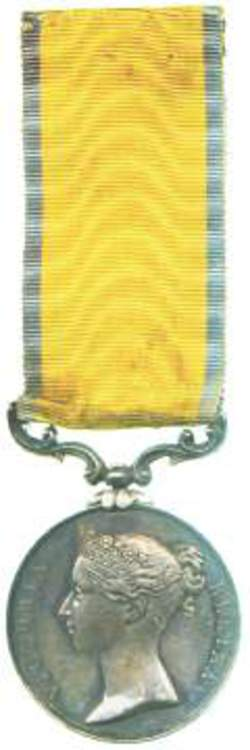 """to 1845 12/"""" OR 36/"""" of 7 Different  MINIATURE VICTORIAN Medal Ribbons"""