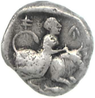 Reverse Marion, Timocharis, SilCoinCy A1919